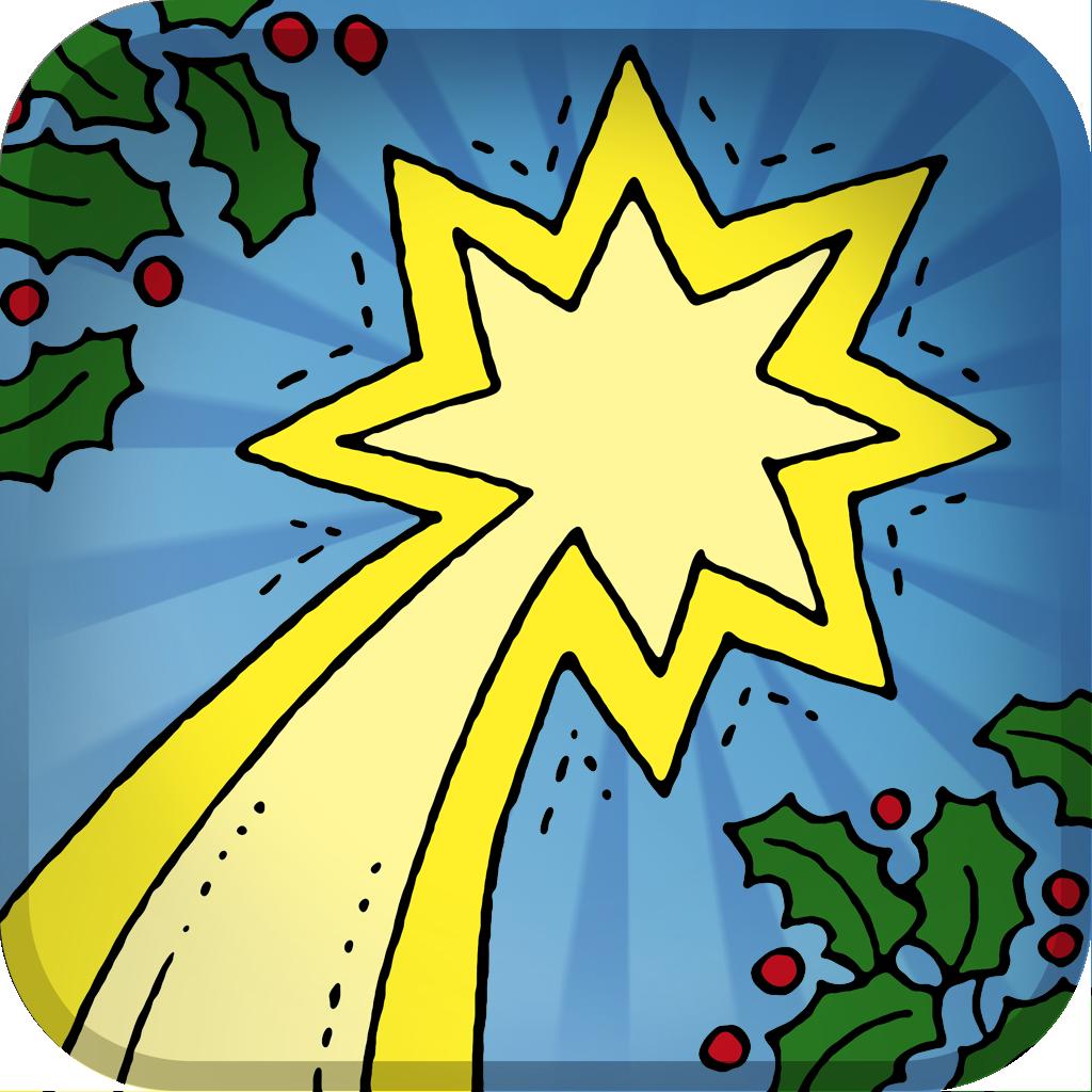 Navidad: Calendario de Adviento para niños y escuelas cristianas de La Bíblia de los Niños